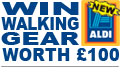 Win Walking Gear from Aldi worth �100