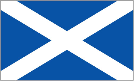 The Flag of Scotland, The Saltire or St Andrew