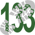 Walk 133 Walking Bootprint Icon