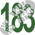 Walk 183 Walking Bootprint Icon