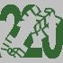 Walk 220 Walking Bootprint Icon