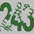 Walk 243 Walking Bootprint Icon