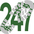 Walk 247 Walking Bootprint Icon