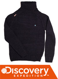 Win a DX Refuge Turtle Neck Jumper from Discovery Expedition worth £80