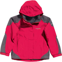 Regatta Girls Valentine Waterproof Jacket for Children