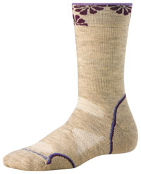 Smartwool PhD Outdoor Mid Crew Walking and Hiking Socks for Men and Women