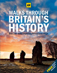 Win 1 of 2 copies of Walks through Britain's History from the AA worth £150