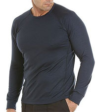 Armadillo Merino Python crew neck for Men Base Layer