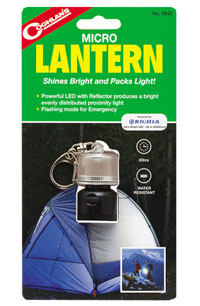 Coghlan's Mirco Lantern Walking Accessories and Gift Ideas