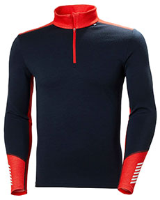 Helly Hansen LIFA® Merino Midweight Half Zip for Men Base Layer