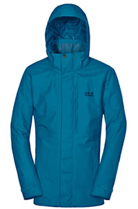 Jack Wolfskin Brooks Range Flex Hardshell Waterproof Jacket for Men