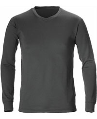 Kathmandu Altica Thermaplus Long Sleeve V neck for Men Base Layer