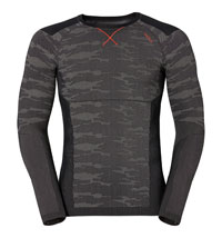 Odlo Blackcomb Evolution Warm Shirt Base Layer for Men