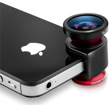 Olloclip 3-in-one Photo Lens for iPhone and iPod Touch Walking Accessories and Gift Ideas