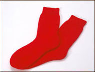 Perilla Red Walking and Hiking Socks
