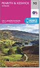 Walk route maps on interactive Ordnance Survey Landranger Walking Maps