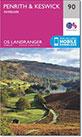 Walk route maps on interactive Ordnance Survey Landranger Walking Maps