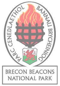 The Black Mountains Area of The Brecon Beacons National Park Logo