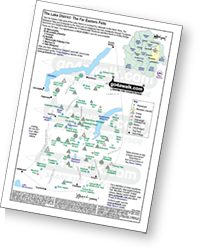 <em>Downloadable Peak Baggers Map you can Print or Save to your Phone detailing all the Wainwrights, Mountains, Hewitts, Nuttalls, Deweys, Waiinwright Outlying Fells, Marilyns, Bridgets, Hills, Peaks and Tops in The Far Eastern Fells of The Lake District National Park. </em>