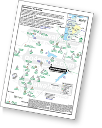 <em>Downloadable Peak Baggers Map you can Print or Save to your Phone detailing all the Mountains, Hewitts, Deweys, Nuttalls, Marilyns, Bridgets, Hills, Peaks and Tops in The Arenigs of Snowdonia National Park. </em>