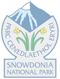The Glyders (or Glyderau) area of Snowdonia National Park Logo