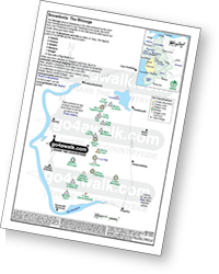 <em>Downloadable Peak Baggers Map you can Print or Save to your Phone detailing all the Mountains, Hewitts, Deweys, Nuttalls, Marilyns, Bridgets, Hills, Peaks and Tops in The Rhinogs of Snowdonia National Park. </em>