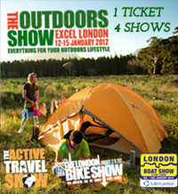 Win 10 pairs of Tickets to The Outdoors Show 2012 worth £400