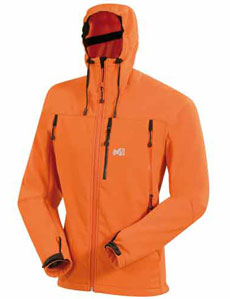 Millet Polartec Premium Shield Soft Shell Jacket