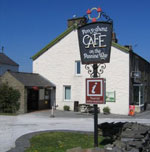 The Yorkshire Three Peaks Walk - Getting There and Local Accommodation Pen-y-ghent Cafe