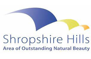 The Shropshire Hills AONB (Area of Outstanding Natural Beauty) Logo