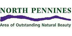 The North Pennines AONB (Area of Outstanding Natural Beauty) Logo