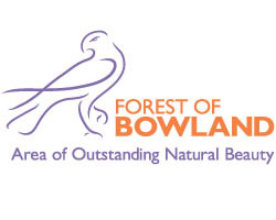 The Forest of Bowland and The South Pennines AONB (Area of Outstanding Natural Beauty) Logo
