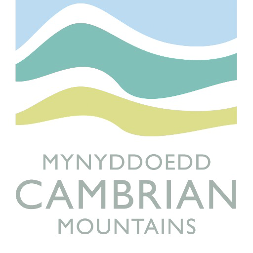 The Central area of The Cambrian Mountains Logo