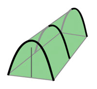 Tunnel (or Hoop) Tents for Camping