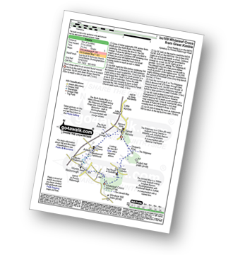 Walk route map with easy-to-follow route instructions for walk bu109 Whiteleaf Cross from Great Kimble pdf