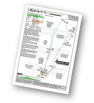 Walk route map with easy-to-follow route instructions for walk c102 Red Screes from Ambleside pdf