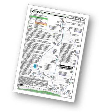 Walk route map with easy-to-follow route instructions for walk c159 The Nab and Rest Dodd from Christy Bridge pdf