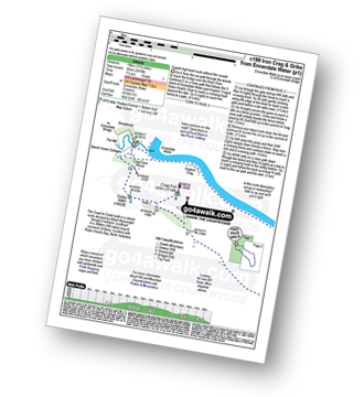 Walk route map with easy-to-follow route instructions for walk c199 Iron Crag and Grike from Ennerdale Water pdf