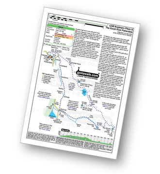 Walk route map with easy-to-follow route instructions for walk c249 The Knott and Angletarn Pikes from Patterdale pdf