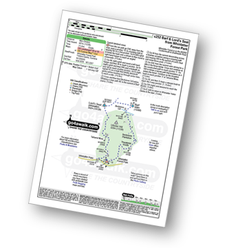 Walk route map with easy-to-follow route instructions for walk c252 Barf and Lord's Seat from Whinlatter Forest Park pdf