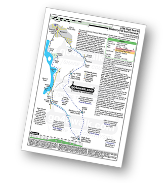 Walk route map with easy-to-follow route instructions for walk c296 High Seat and Bleaberry Fell from Keswick pdf