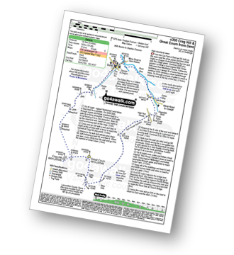 Walk route map with easy-to-follow route instructions for walk c300 Crag Hill and Great Coum from Dent pdf