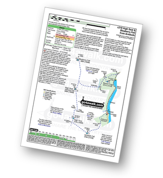 Walk route map with easy-to-follow route instructions for walk c318 High Seat and Bleaberry Fell from Armboth pdf