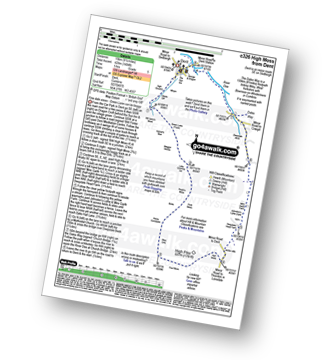 Walk route map with easy-to-follow route instructions for walk c326 High Moss from Dent pdf