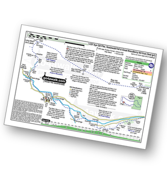 Walk route map with easy-to-follow route instructions for walk c357 Aye Gill Pike, Snaizwold Fell and Great Knoutberry Hill from Dent pdf
