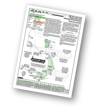 Walk route map with easy-to-follow route instructions for walk c360 The Lorton and Wythop Fells from Whinlatter Forest Park pdf