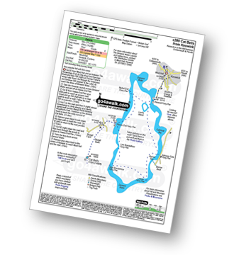 Walk route map with easy-to-follow route instructions for walk c399 Cat Bells and Derwent Water from Keswick pdf