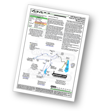 Walk route map with easy-to-follow route instructions for walk c400 Beacon (Blawith Fells) and Yew Bank from Brown Howe pdf