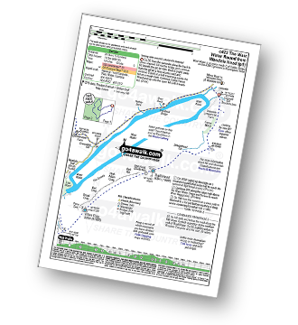 Walk route map with easy-to-follow route instructions for walk c423 The Wast Water Round from Wasdale Head, Wast Water pdf