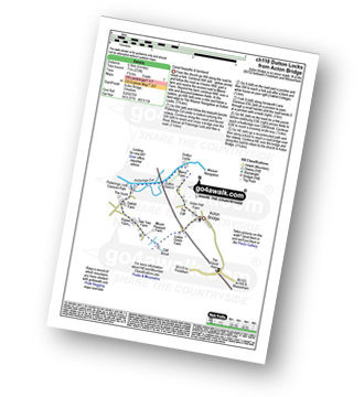 Walk route map with easy-to-follow route instructions for walk ch118 Dutton Locks from Acton Bridge pdf
